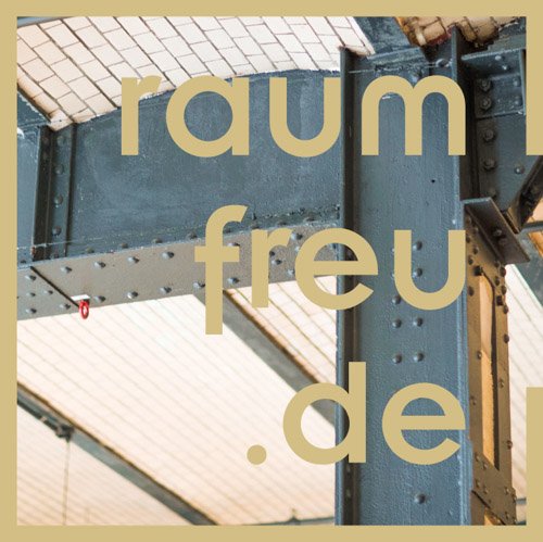 Corporate Design Projekt. Visitenkarten Design für die Interior Beratung raumfreu.de aus Oberbayern.