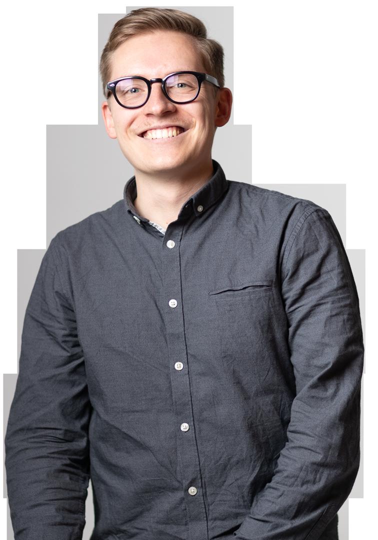 Lorenz Töpfer the founder of Lorbeer.media is a webdesigner, webdeveloper and strategist for websites made in webflow.