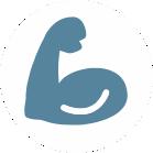 Symbol Bizeps
