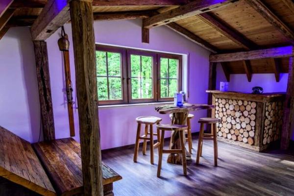 Saunabereich im Fit-Inn, Mörlenbach