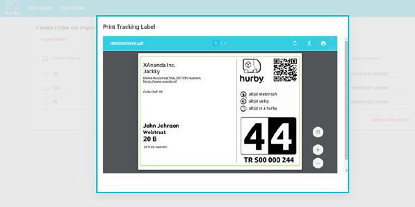 Met de hurby API integreer je hurby in elke ecommerce oplossing