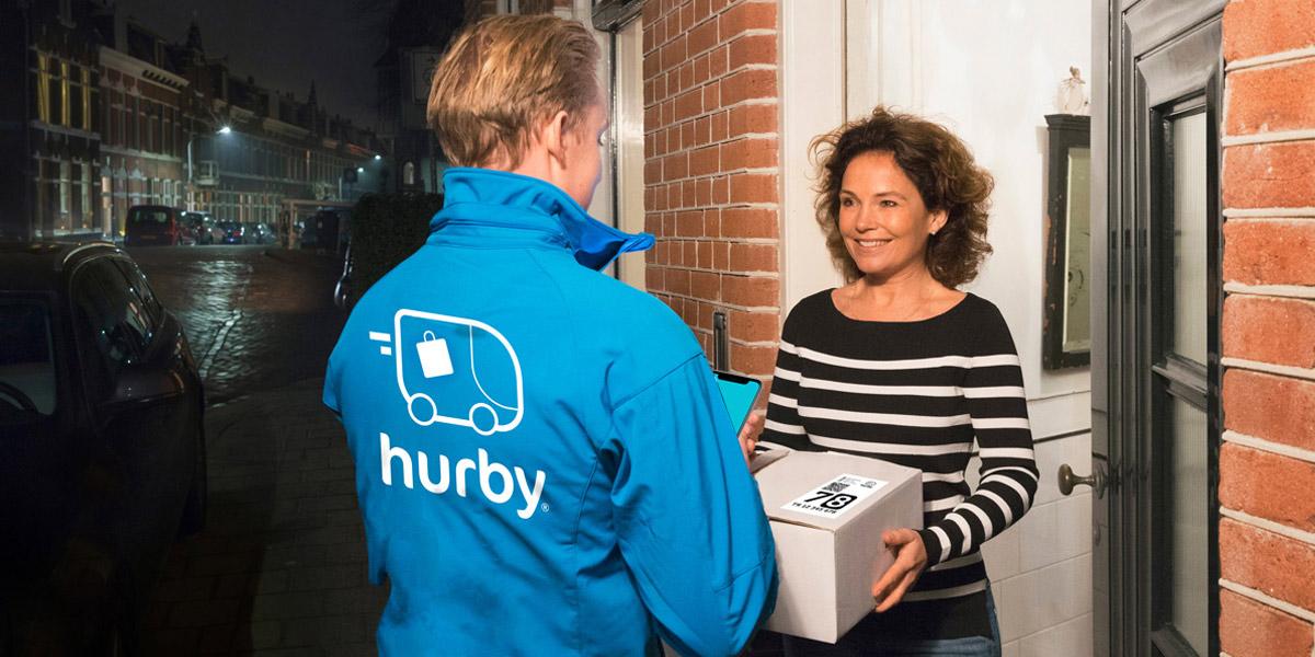 winkel bestellingen worden dezelfde avond bezorgd door hurby
