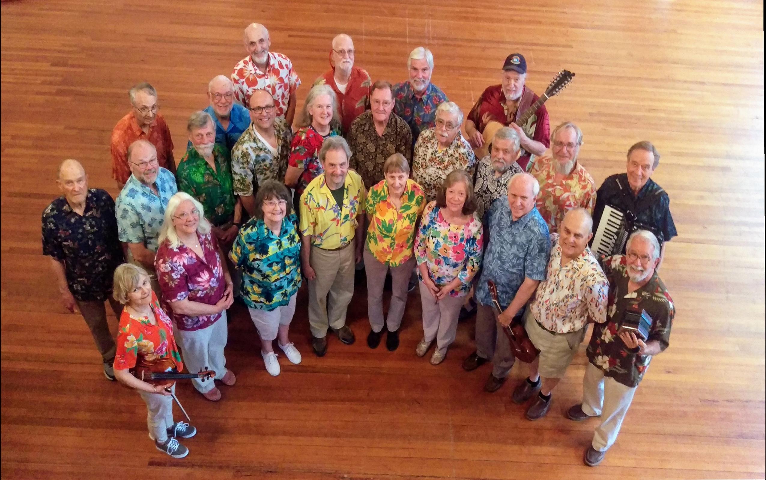 New Bedford Harbor Sea Chantey Chorus