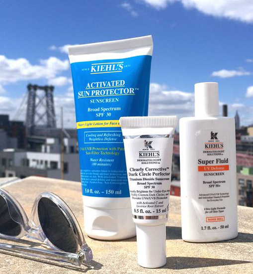 ACTIVATED SUN PROTECTOR SUNSCREEN SPF 50 KIEHL'S