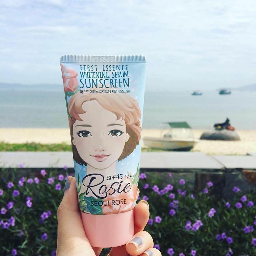 Kem chống nắng Rosie First Essence Whitening Serum Sunscreen