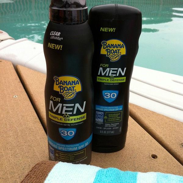 Banana Boat Sunscreen for Men
