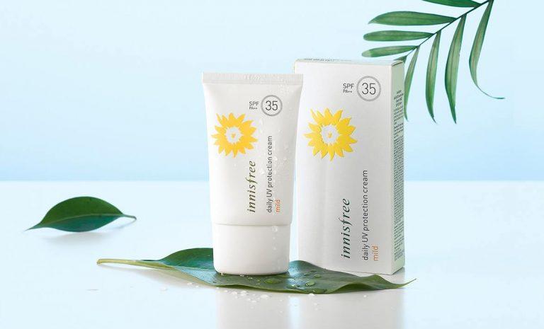 Kem chống nắng vật lý innisfree daily UV protection cream