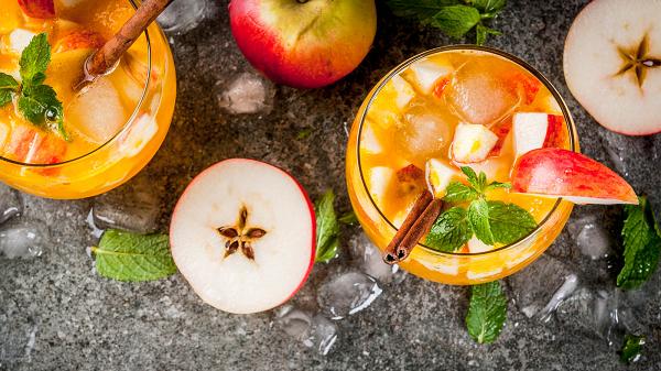 Nước ép táo tốt cho gan