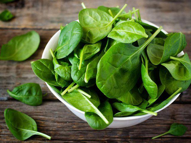 Ăn rau chân vịt giúp hạ men gan hiệu quả