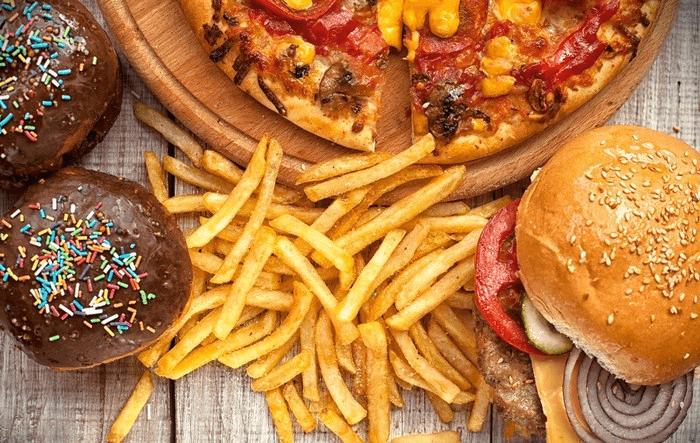 Hạn chế thực phẩm nhiều chất béo