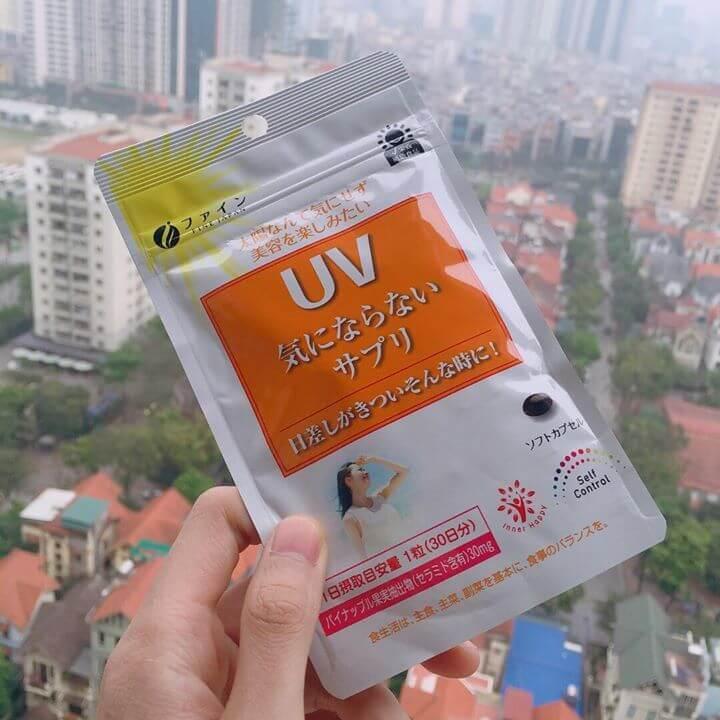 Viên uống chống nắng UV fine