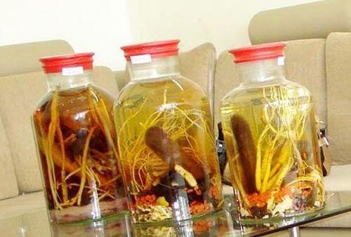 Đông trùng hạ thảo có thể ngâm rượu với nhung hươu