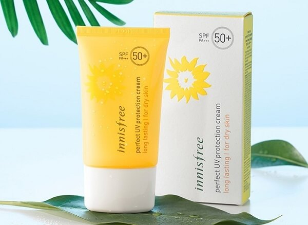 Kem chống Innisfree Perfect Uv Protection Cream Long Lasting/For Dry Skin