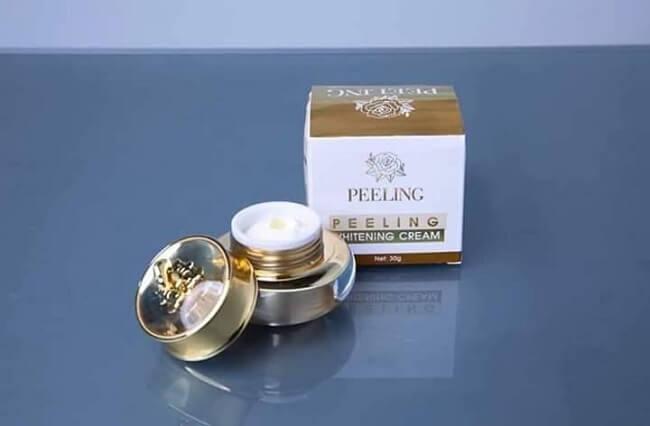 Kem tái tạo da Peeling Whitening Cream