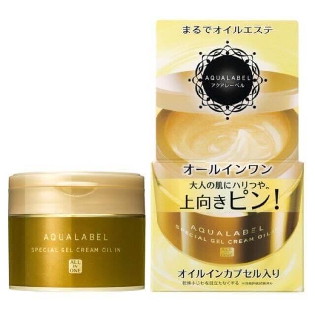 Kem tái tạo da Shiseido Aqualabel Cream 5 in 1