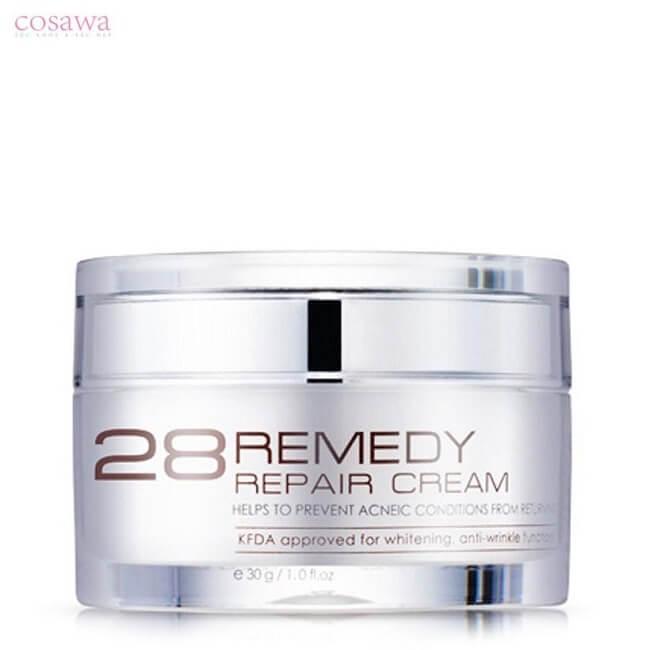 Kem tái tạo da sau mụn NoTS 28 Remedy Repair Cream