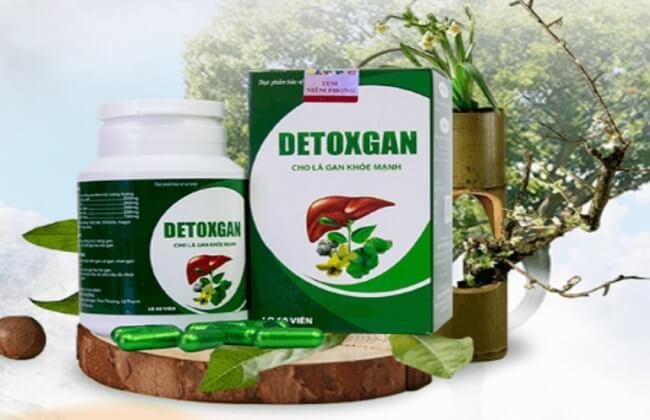 Thuốc điều trị gan nhiễm mỡ Detox Gan