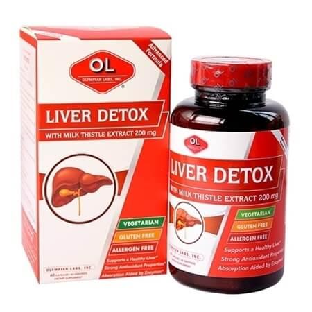 Thuốc gan nhiễm mỡ Liver Detox