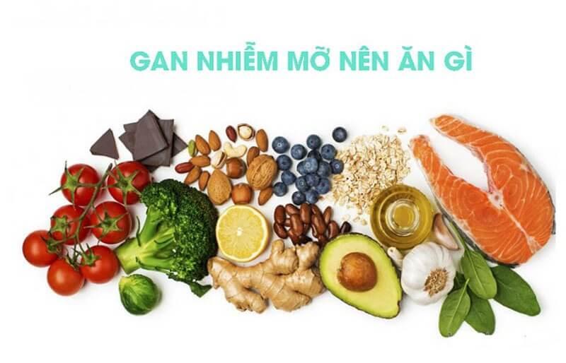 Chế độ ăn dinh dưỡng và khoa học cho bệnh nhân gan nhiễm mỡ