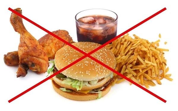 Thực phẩm cần tránh ở những người bệnh gan nhiễm mỡ