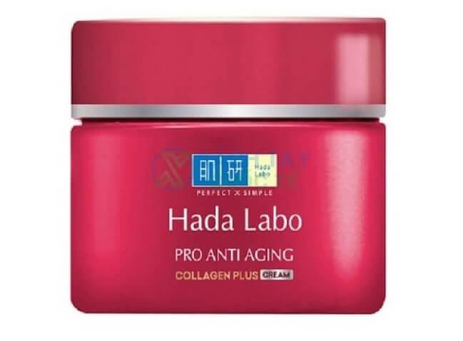Kem chống lão hóa Hada Labo Pro Anti Aging Collagen Plus Cream