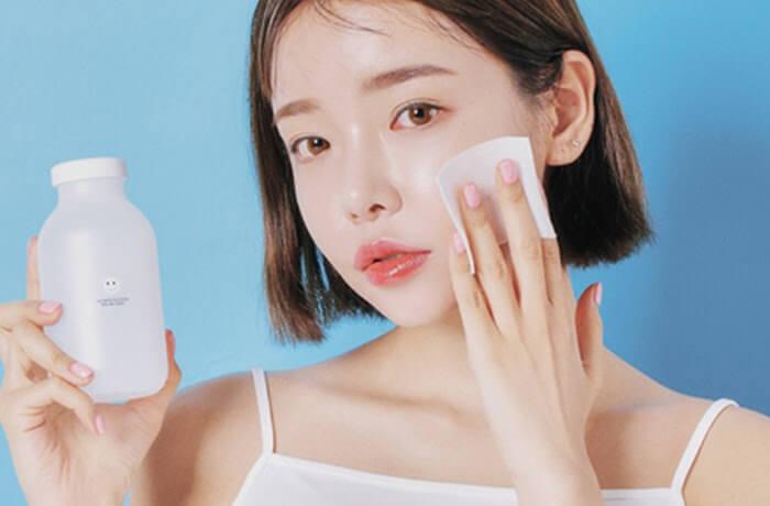 Chu trình 3 bước: Tẩy Trang + Sữa rửa mặt Kem chống nắng