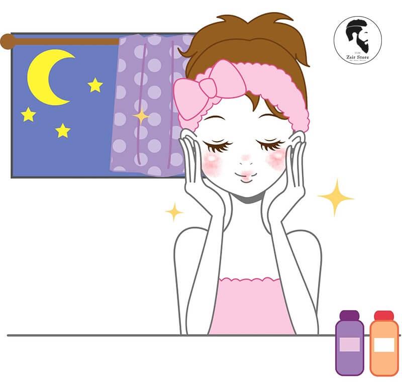 Các bước skincare ban đêm