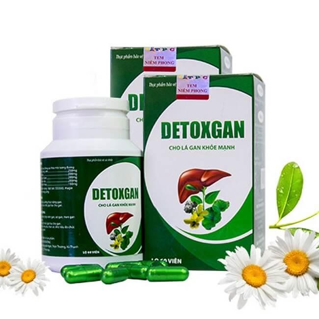Thuốc bổ gan Detox Gan