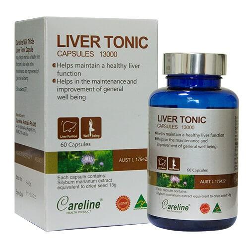 Thuốc giải độc gan Liver Tonic Capsule