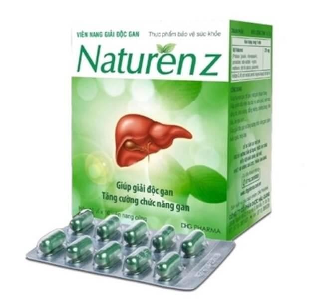 Thuốc mát gan Naturenz
