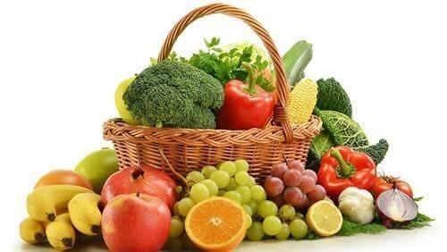 thực phẩm tươi sống tốt cho gan