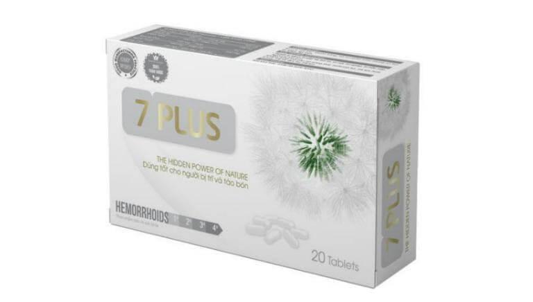 Thuốc trĩ 7 Plus