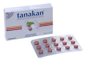 Thuốc trị rối loạn tiền đình Tanganil 500mg