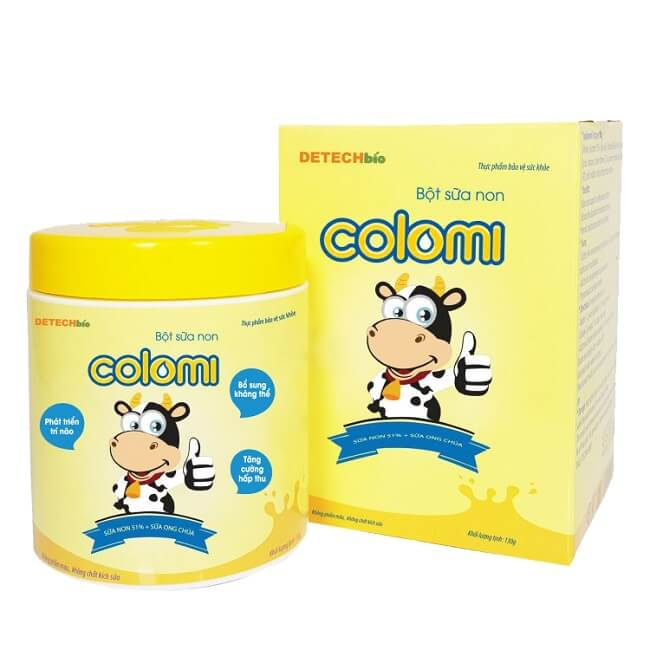 Sữa non Colomi giúp bé tăng cân