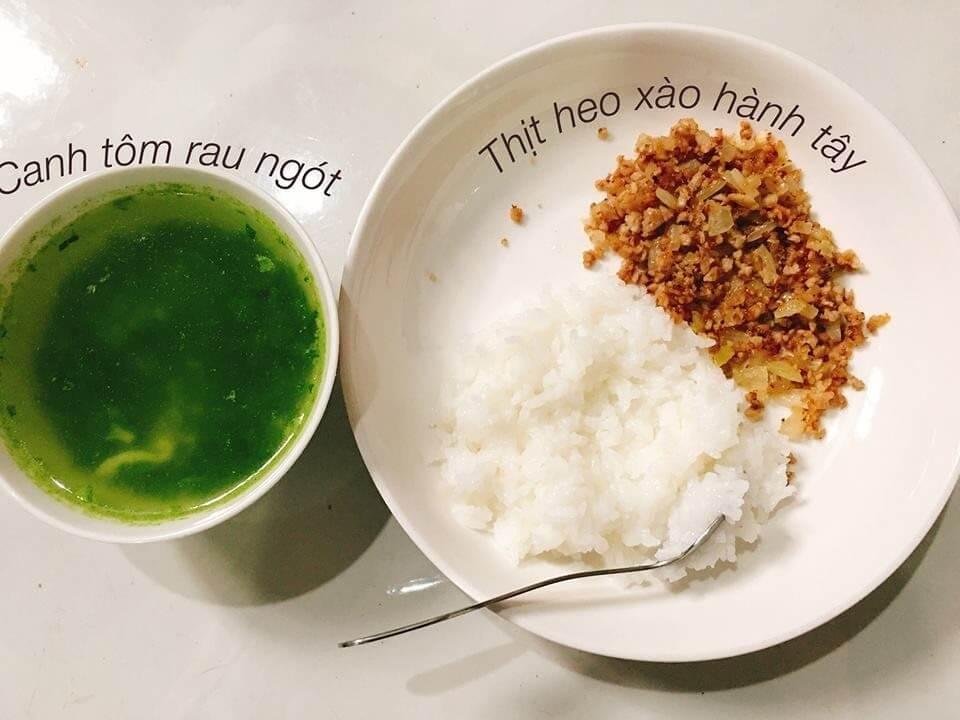 Giai đoạn: Ăn cơm