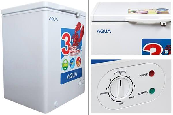 Tủ đông Aqua AQF- C310trữ sữa mẹ