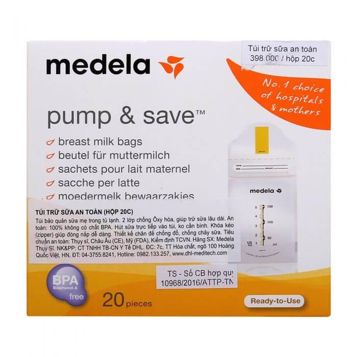 Túi trữ sữa mẹ Medela