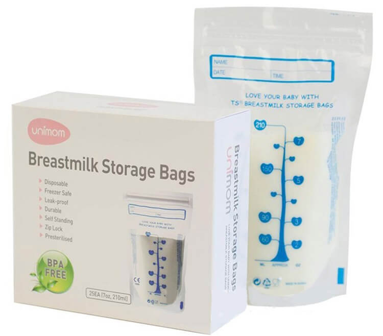 Túi trữ sữa mẹ Unimom