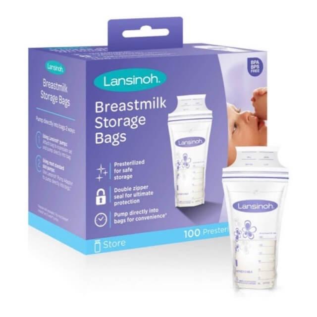 Túi trữ sữa mẹ Lansinoh