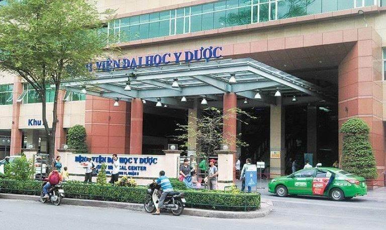 Khoa hậu môn - trực tràng bệnh viện ĐH Y Dược TP. Hồ Chí Minh