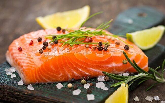Thịt cá giàu omega 3