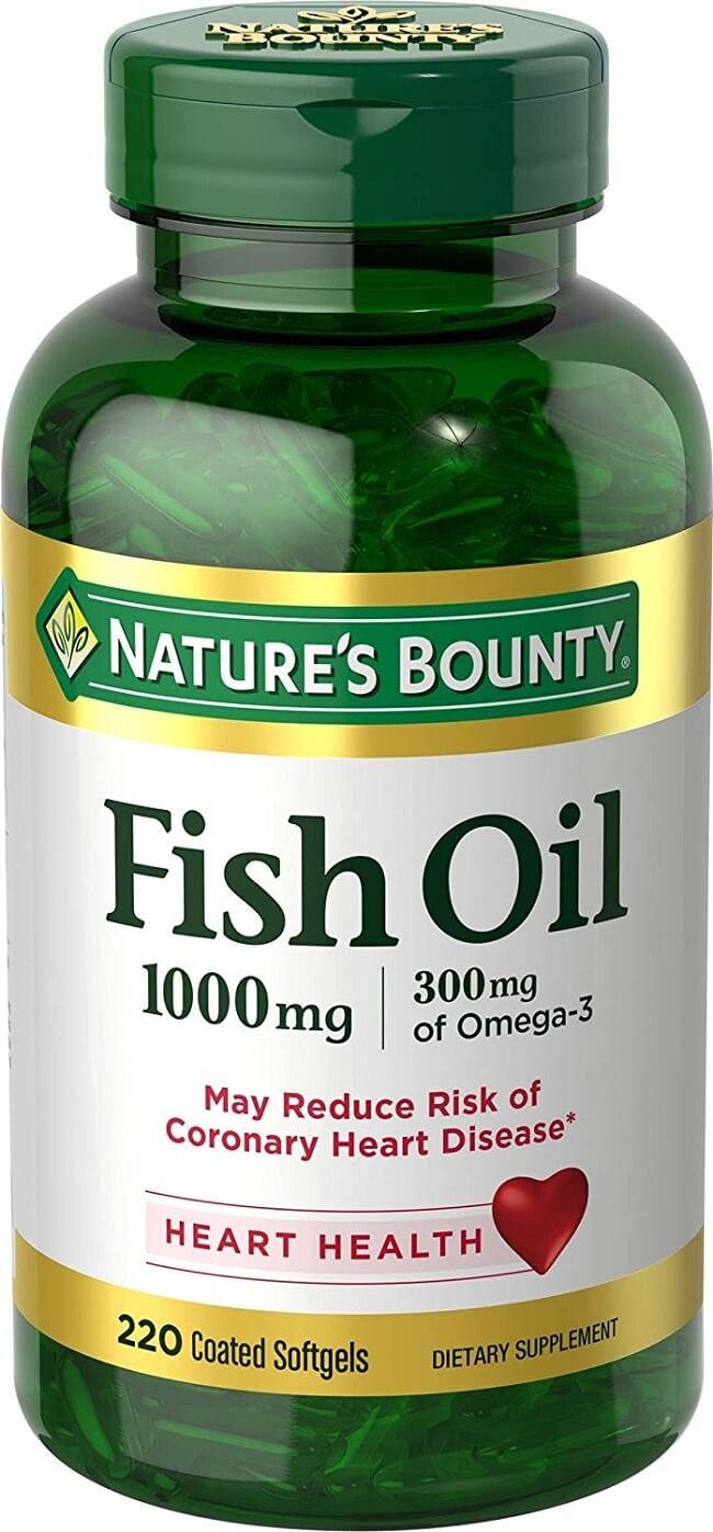 Dầu cá Nature's Bounty Fish Oil 1000mg