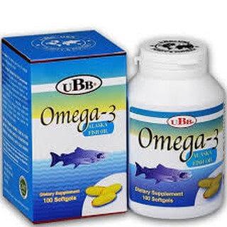 Dầu cá UBB Alaska Fish Oil 1000mg