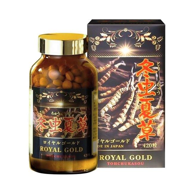 Viên uống Tohchukasou Royal Gold của Nhật Bản
