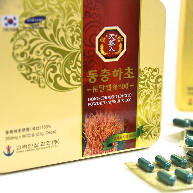 Viên uống Bio - Science - viên uống đông trùng hạ thảo đến từ Hàn Quốc