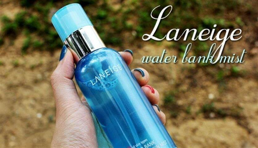 Xịt khoáng cho da khô Laneige Water Bank Mineral Skin Mist