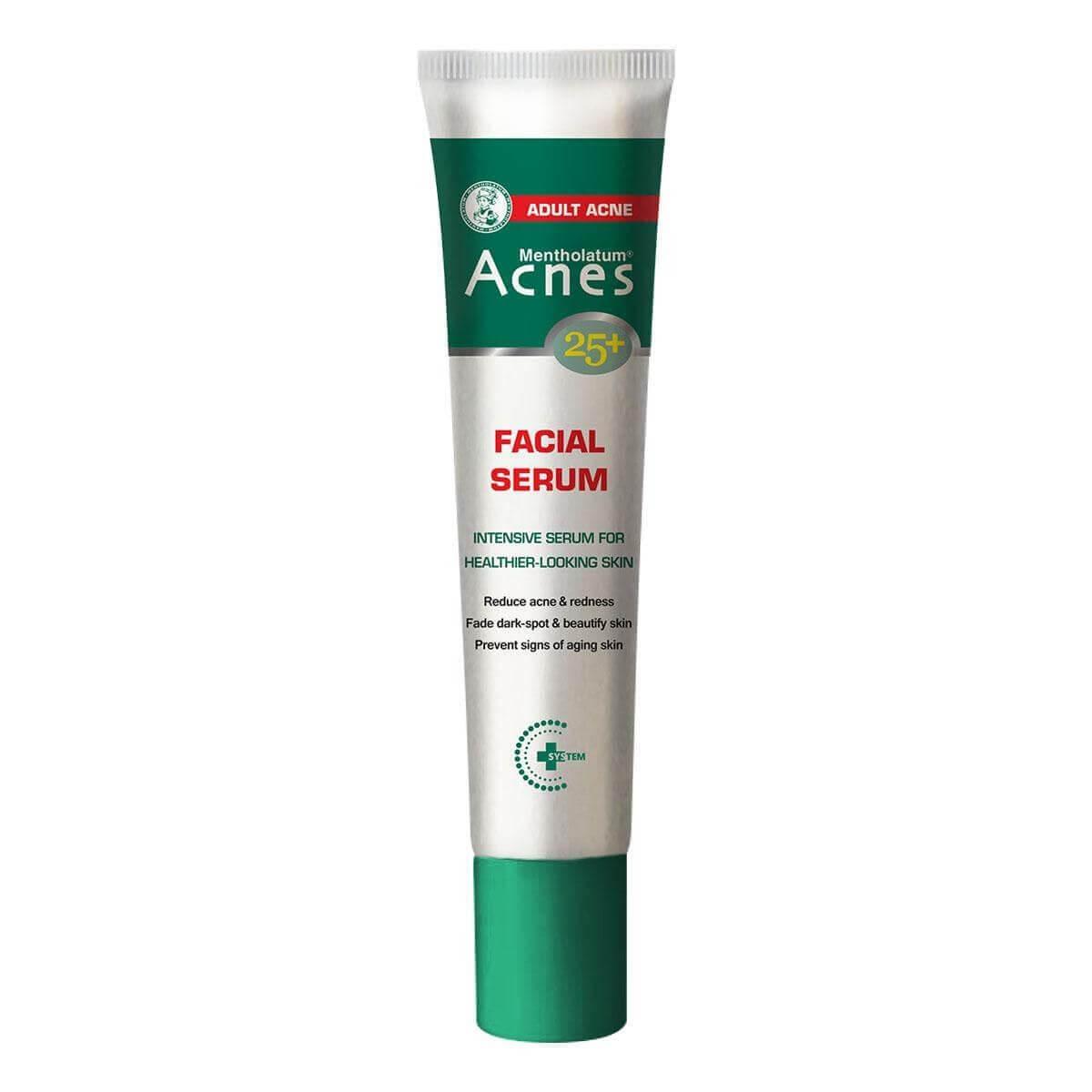 Serum trị mụn se khít lỗ chân lông Acnes 25+ Facial Serum