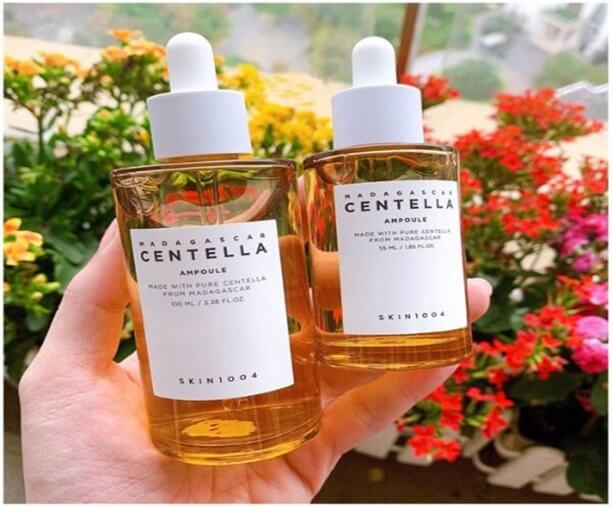 giải đáp thắc mắc serum centella