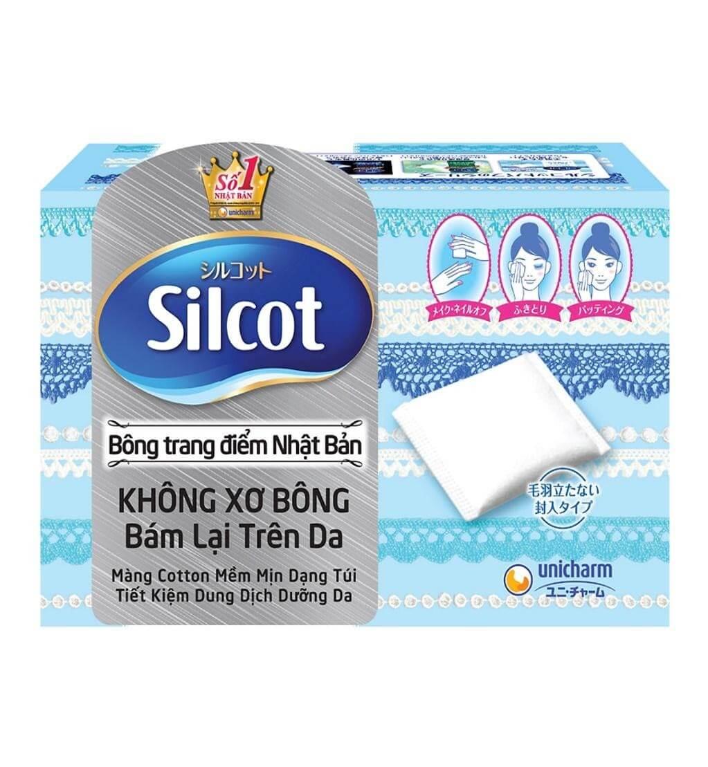 Bông tẩy trang Silcot