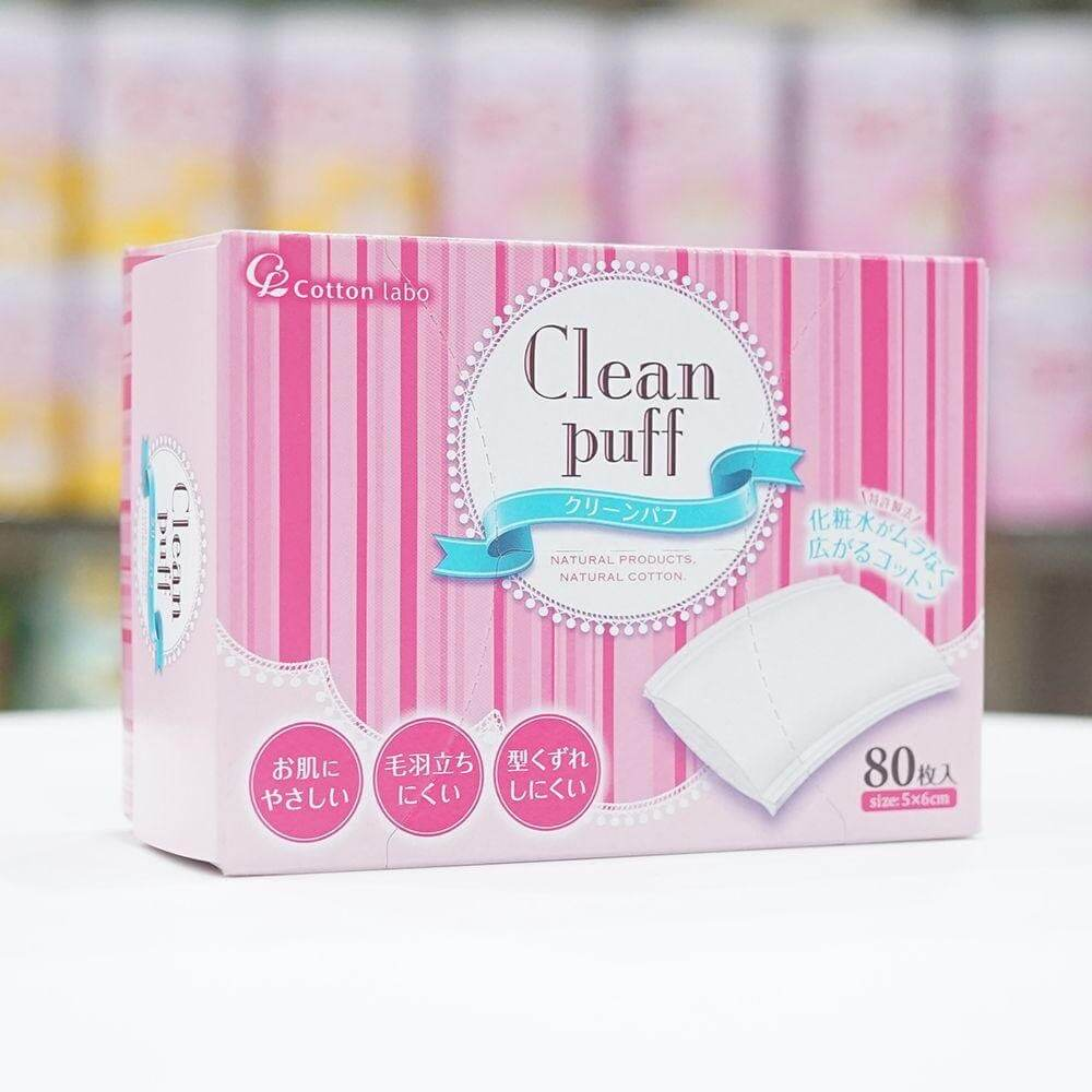 Bông tẩy trang Clean Puff